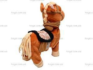 Лошадь музыкальная с поводком, 1467-4, купить