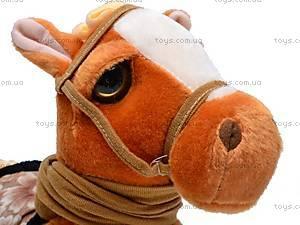Лошадь музыкальная с поводком, 1467-4, фото