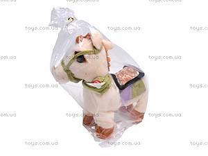 Лошадь музыкальная с поводком, 1467-4, магазин игрушек