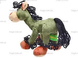 Лошадь мягкая «Юлий», К128СА, фото