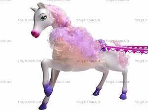 Лошадь с каретой и куклой, M8002, цена