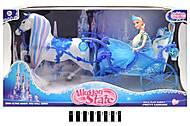 Лошадь с каретой и куклой типа Барби, 225A, купить