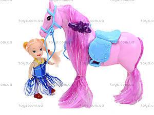 Лошадь с куклой в пакете, 686-606, купить