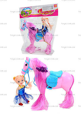 Лошадь с куклой в пакете, 686-606