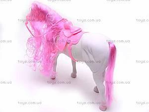 Лошадь велюровая, 329-2, фото