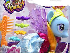 Детская игрушка «Лошадка с крыльями», 63805-63806-63807, купить