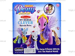 Детская игрушка «Лошадка с крыльями», 63805-63806-63807, отзывы