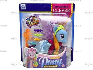 Детская игрушка «Лошадка с крыльями», 63805-63806-63807, цена