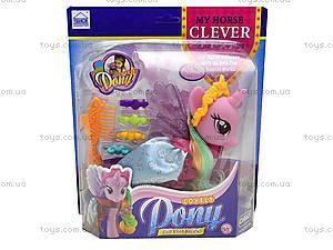 Детская игрушка «Лошадка с крыльями», 63805-63806-63807, игрушки
