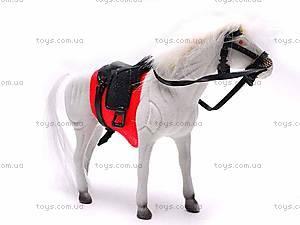 Лошадка детская велюровая, 324-2, фото