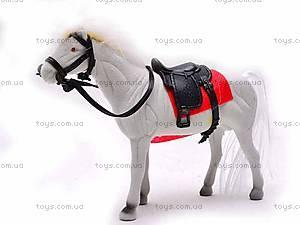 Лошадка детская велюровая, 324-2