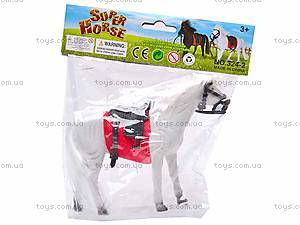 Лошадка детская велюровая, 324-2, игрушки
