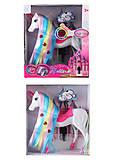Лошадка-единорог с разноцветными волосами со звуками, 68806, отзывы