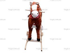Лошадка-качалка, меховая, DM01, отзывы