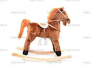 Лошадка-качалка мягкая, GS-090-S, купить