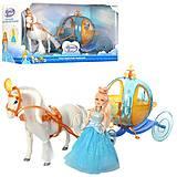"""Лошадка с каретой и куклой """"Illusion State"""" , 258A, детский"""
