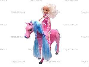 Лошадка с куколкой, 40386, купить