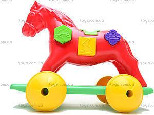 Игрушка-каталка «Лошадка Zibi», 00201, купить