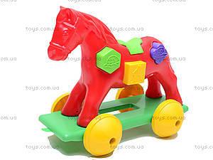 Игрушка-каталка «Лошадка Zibi», 00201, фото