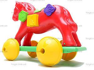 Игрушка-каталка «Лошадка Zibi», 00201, отзывы