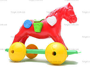 Игрушка-каталка «Лошадка Zibi», 00201, цена