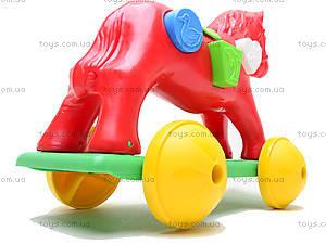 Игрушка-каталка «Лошадка Zibi», 00201, игрушки