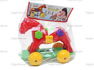 Игрушка-каталка «Лошадка Zibi», 00201