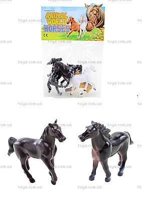 Игрушечный набор лошадок, P205-4