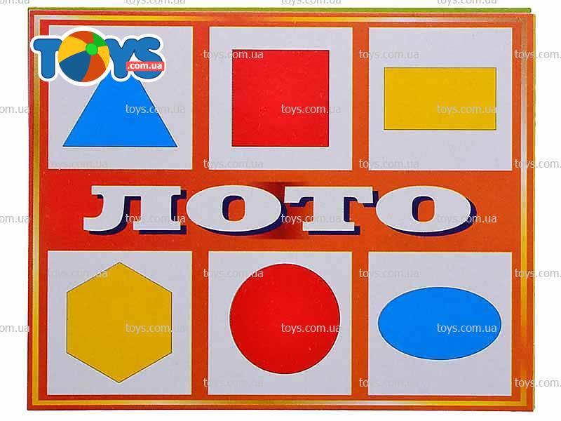 Лото с геометрическими фигурами 159