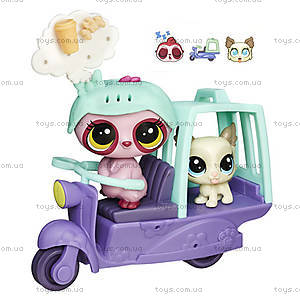 Игровой набор Littlest Pet Shop «Городской транспорт», B3807, купить