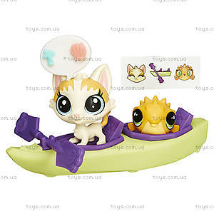 Игровой набор Littlest Pet Shop «Городской транспорт», B3807, отзывы