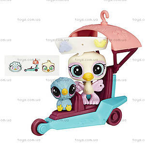 Игровой набор Littlest Pet Shop «Городской транспорт», B3807, цена