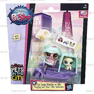 Игровой набор Littlest Pet Shop «Городской транспорт», B3807