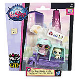 Игровой набор Littlest Pet Shop «Городской транспорт», B3807