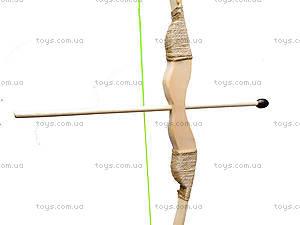 Детский деревянный лук с колчаном, 55 см, 171874у, купить