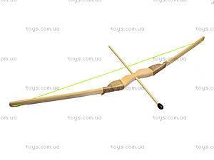Детский деревянный лук с колчаном, 55 см, 171874у, фото