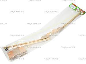 Детский деревянный лук с колчаном, 55 см, 171874у, цена