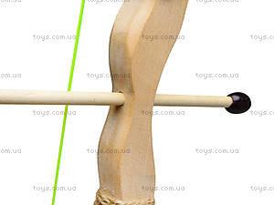 Детский деревянный лук с колчаном, 55 см, 171874у, игрушки