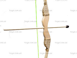 Деревянный лук с набором стрел, 75 см, 171873у, купить