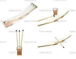 Деревянный лук с набором стрел, 75 см, 171873у