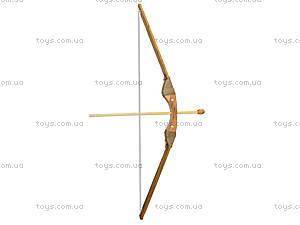 Лук деревянный с колчаном и стрелами, 171872, фото