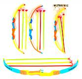 Лук со стрелами на присосках, разные цвета, 600, интернет магазин22 игрушки Украина