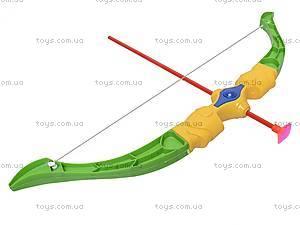 Лук со стрелами на присосках, 3289-3, игрушки