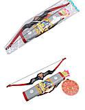 Игрушка лук со стрелами, 989-2, фото