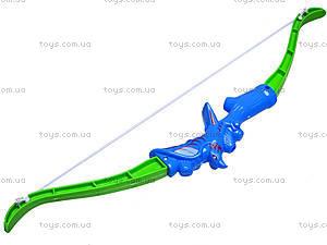 Лук игрушечный со стрелами на присосках, ZQ655, фото