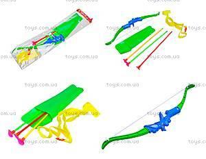 Лук игрушечный со стрелами на присосках, ZQ655