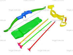 Лук игрушечный со стрелами на присосках, ZQ655, отзывы