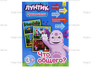 Лунтиковая школа «Что общего?», синяя, Л524014РУ, игрушки