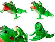 Лягушка резиновая, 21 см, H393W, фото