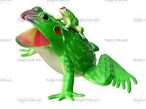 Лягушка резиновая, 21 см, H393W, игрушки